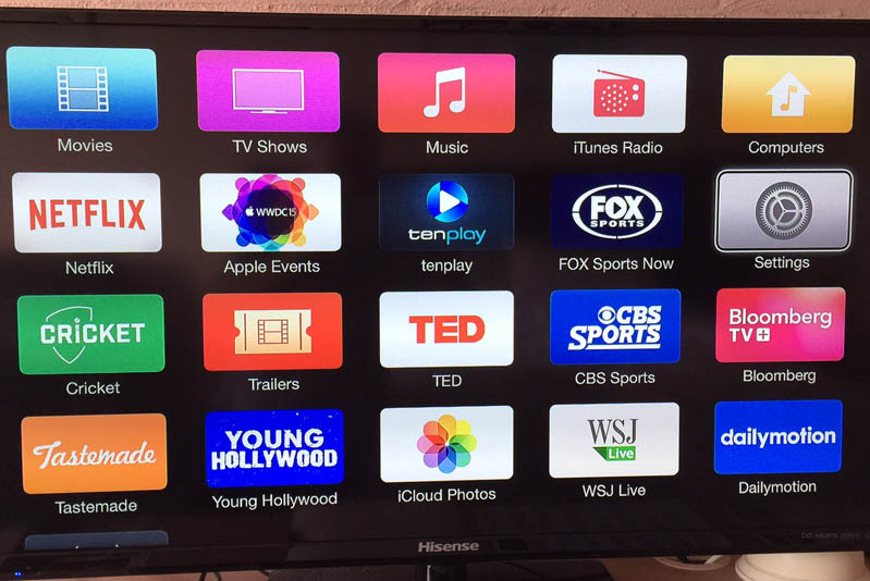 Flat screen TV's with Foxtel Sports Channels